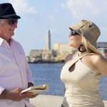 Tourisme et voyage vieux, personnes âgées, s'amuser en vacances — Photo