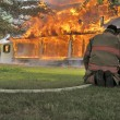 House Fire — Stockfoto