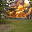 House Fire — Foto Stock