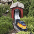 Stock Photo: Model Trains
