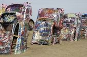 Cadillac Graveyard — Stock Photo
