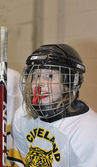 Peewee Ice Hockey — Stock Photo