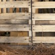 Stock Photo: Wood Palette Hay