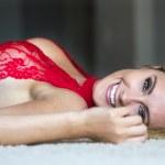 Blonde Model in Lingerie — Stock Photo #29330401