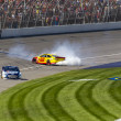 Stock Photo: NASCAR 2013: Sprint Cup Series Pure Michigan 400 August 18