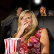 Stock Photo: People Watching A Movie