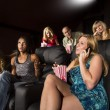 People Watching A Movie — Stock Photo #36720499