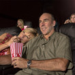 People Watching A Movie — Stock Photo #43860809