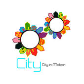 City — Stock Vector