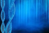 DNA background — Stock Photo