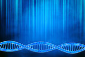 Animation of human DNA — Stock Photo