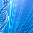 DNA medical beautiful background — Stock Photo