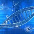 DNA in beautiful background — Stock Photo