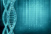 3D illustration of a DNA in beautiful background — Stock Photo