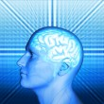 Men and brain — Stock Photo #36254597