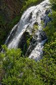 Waterfall. Sakhalin. — Stock Photo