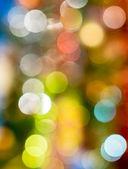 Abstract circular bokeh background of Christmas Light. — Stock Photo