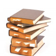 Stack of books with bookmarks — Stockfoto #19012461