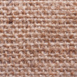 Stock Photo: Brown burlap texture close up