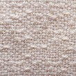 Texture of beige cotton natural fabric. Macro. — Stock Photo