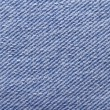 Closeup of blue jeans fabric texture — Stock Photo