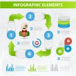 Set elements of infographics — Stock Vector #29511535