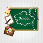 Junta escolar — Vector de stock