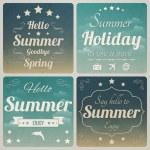 Hello Summer — Stock Vector #29554887