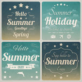 Hello Summer — Stock Vector