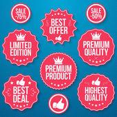 Best offer — Stock Vector