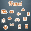 Stock Vector: Travel web collection