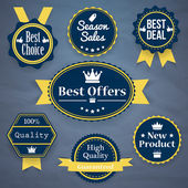 Collection of Premium Quality — Stock Vector
