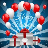 Illustration for happy birthday — Stock Vector