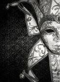 Luxury Venetian mask — Stock Photo