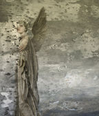 Fantasy woman angel — Stock Photo