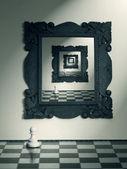 отражение — Стоковое фото