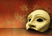 Theater mask — Foto Stock