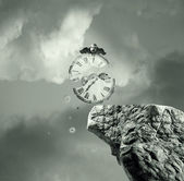 The time will never stop — Stock Photo
