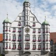 Parlement building in memmingen — Stockfoto #12443504