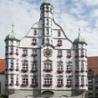 Parlement building in memmingen — Stock Photo #12443504