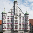 Parlement building in memmingen — Stok Fotoğraf #12444690
