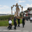 Procession of Maria Ascension in Axams Austria - Stok fotoğraf