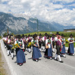 Procession of Maria Ascension in Axams Austria — Stock Photo #12453842