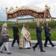 Procession of Maria Ascension in Axams Austria — Stock Photo #12453866
