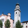 Church in levico terme north Italy — Stock Photo #12770585