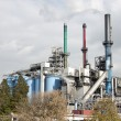 Refinery in europoort Netherlands — Stock Photo