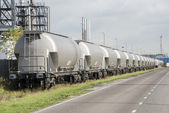 Industrial train in industry — Stock Photo