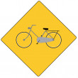 Bicycle sign - Stock Vector