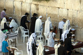Wailing wall jerusalem — Stock Photo