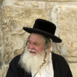 Stock Photo: Old jew min Jerusalem